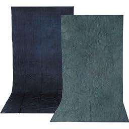 Impact Reversible Muslin Background (10 x 12\', Sky Blue/Aqua)