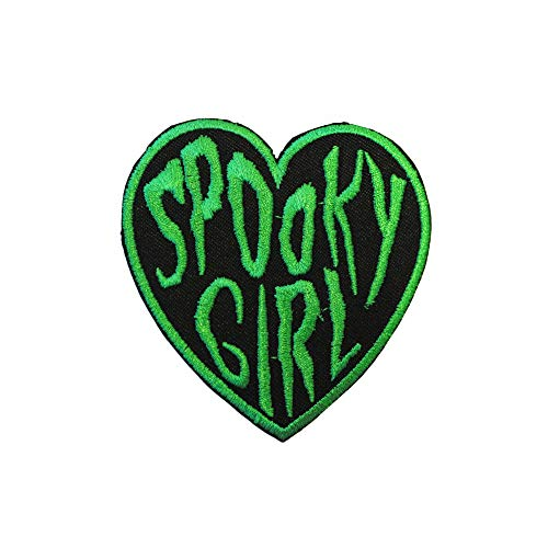 Spooky Girl Iron On Patch
