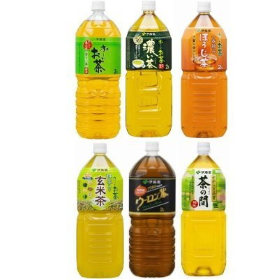 ITO EN Oi tea, roasted green tea, brown rice tea, oolong tea, living room six each set of 2 (total 12) by Contact ~ Iocha