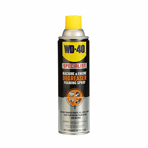 WD-40 Specialist Machine & Engine Degreaser Foaming Spray, 18 OZ