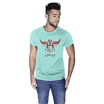 Creo Grindyzer Super Hero T-Shirt For Men - S, Green