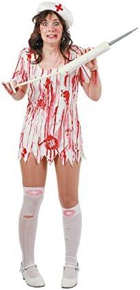 Disfraz enfermera muerta. Talla 42/44.: Amazon.es: Juguetes y juegos