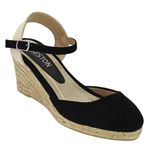 Wedge Ankle Strap Platform Sandal - 3