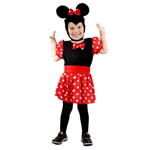Henbrandt TODDLER MOUSE GIRL (Country Mouse Costume)