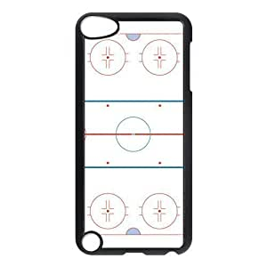 aqiloe diy Ice Hockey Rink Hard Case Cover for Apple iPod Touch 5th Generation
