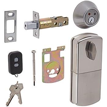 Milocks Wf 02sn Digital Deadbolt Door Lock With Keyless Entry Via