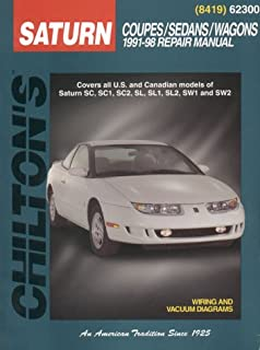 Saturn s series 1991 thru 2002 all models haynes repair manual saturn coupessedanswagons 1991 98 chiltons total car care repair fandeluxe Images