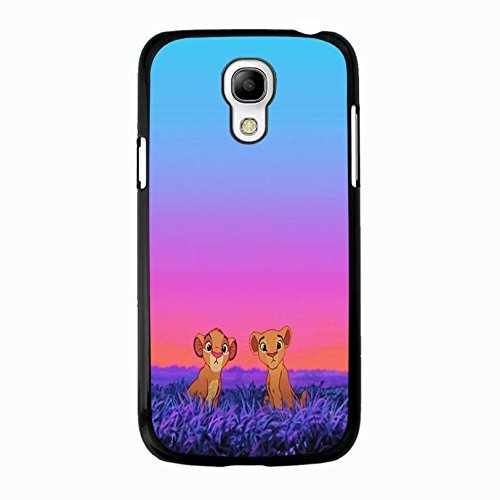 Case Shell Cute Funny Disney Cartoon The Lion King Phone Case Cover for Samsung Galaxy S4 Mini Anime Popular