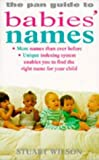 Pan Book of Babies Names, S Wilson, 0330330632