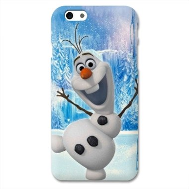 Case Iphone 6 plus / 6s plus cartoon - - olaf white -