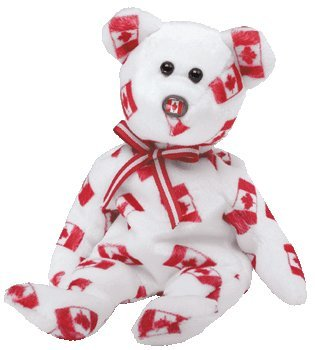 Ty Beanie Babies Discover - Bear (Canada Exclusive)