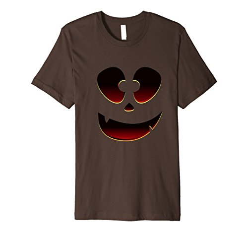 Mens Halloween Smiling Face - Creative Costume Idea Shirt XL Brown