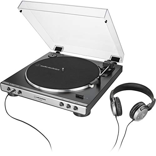 turntable with headphone jack - 1