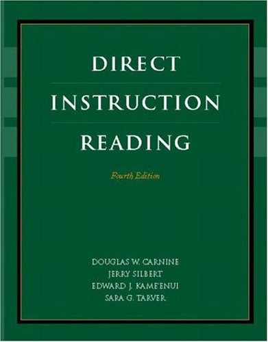 Pdf Teaching Direct Instruction Reading (4th Edition)