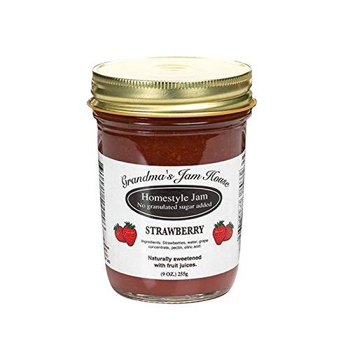 Grandma's No Sugar Added Jams Strawberry Jam (No Sugar Added) ()