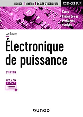 couverture du livre Electronique de puissance