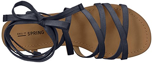 Call It Spring Womens Afauma Gladiator Sandal Navy mh4EKAd