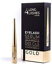 Long4Lashes GOLD 4 ml - Nieuw exclusief wimperserum, hoge capaciteit - serum van superlative - verhoogt de wimpergroei met een krachtpakket van plantaardige ingrediënten | Superstar formule 4 ml