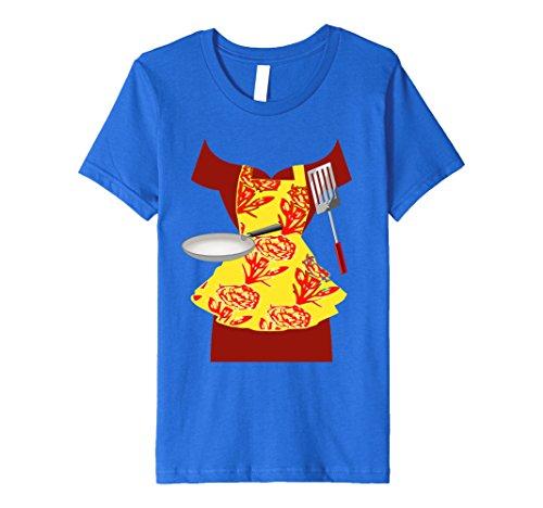 Homemaker Costume (Kids Homemaker Halloween Costume T-Shirt 12 Royal Blue)