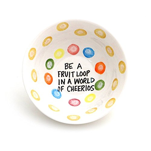 - Fruit Loop in a World of Cheerios Cereal Bowl