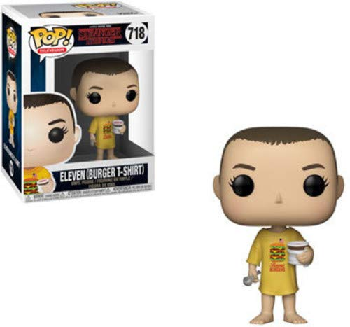 Funko POP! Television: Stranger Things - Eleven in Burger T-Shirt