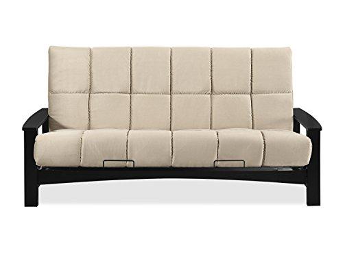 Sofas 2 Go SI-EX-VAC-WG-4B Vancouver Wenge Futon Frame W/ 8