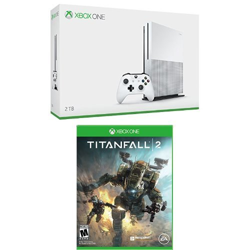 Xbox One S 2TB Console - Launch Edition + Titanfall 2 Game