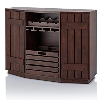 Captivating Vintage Liquor Cabinet Storage Buffet Bundle W Crate U0026 BONUS Wine Bottle  Holder