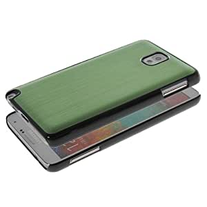 GETLAST [Green] Fashion Shiny Lines Design Aluminum Metal Plated Durable Hard Case Cover For Samsung Galaxy Note 3 N9000