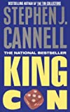 Front cover for the book King Con by Stephen J. Cannell