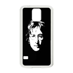 Samsung Galaxy S5 Phone Case White John Lennon DG0O4UBN Spigen Phone Cover