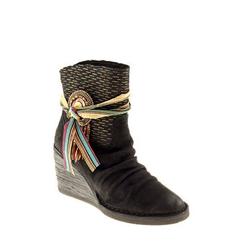 Stivali Zeppa Com Genuina Multicolore Felmini Pelle Innamorarsi Scarpe Como A970 Con Donna In pwRqFw4