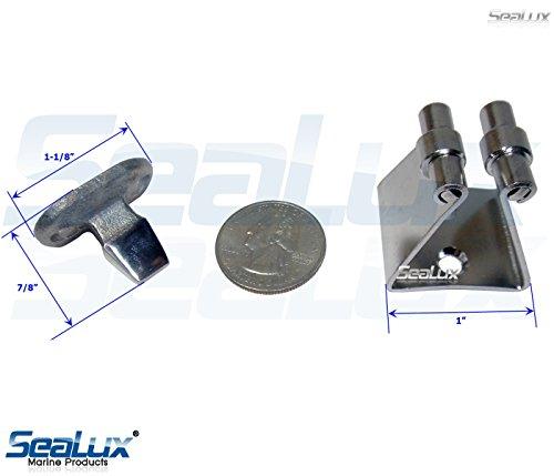 Sealux Marine 316 Stainless Steel 1 1 2 Quot Door Stop