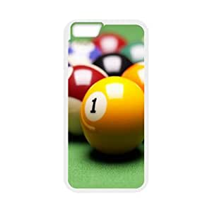 Game Pool iPhone 6 6s Plus 5.5 Inch Cell Phone Case White DIY Ornaments xxy002-9176075