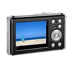 "Heegomn Digital Camera Ultra HD 24M Resolution Waterproof Camera 2.4"" LCD Video Camera with Wide Angle Len, Black by HEEGOMN"
