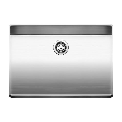 17' Single Bowl Kitchen (Blanco 519594 Attika 26-Inch Elevated Rim Single Bowl Kitchen Sink, Large, Stainless Steel)