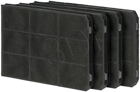 Filtro de carbón para la campana extractora TEKA CNL 3000, X 6000 - Conjunto 4 piezas: Amazon.es: Hogar