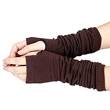 Feccile Sports /& Fitness Fashion Leather Touch Screen Gloves Winter for Men Driving Motorcycle,1Pair
