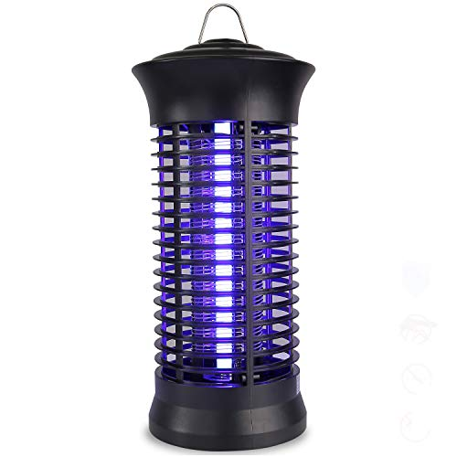 occer Bug Zapper, Electric Indoor Mosquito Killer Trap,Portable Insects Fly Zappers,Catcher,with 360°UV Light Large Coverage,Suitable for Bedroom,Living Room,Office,Kitchen,Patio,Yard by occer