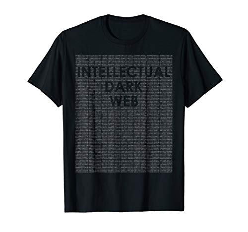Intellectual Dark Web T Shirt SJW Peterson Free Thinking from Intellectual Dark Web