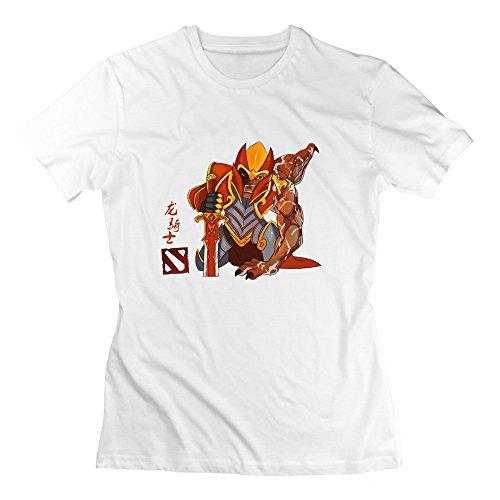 ZhiXiong Women's Cotton Dota2 T-shirt