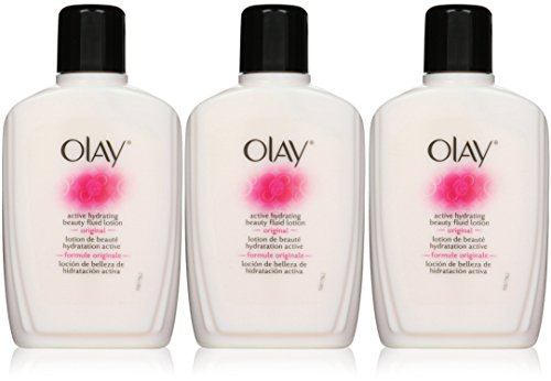 OLAY Active Hydrating Beauty Fluid Original 6 oz Pack of 3