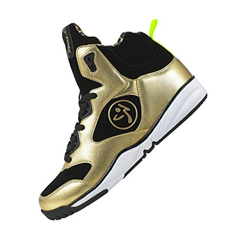 Zumba Footwear Metallic Gold Boom de Fitness Or Zumba Chaussures Femme Energy wPz5wfx