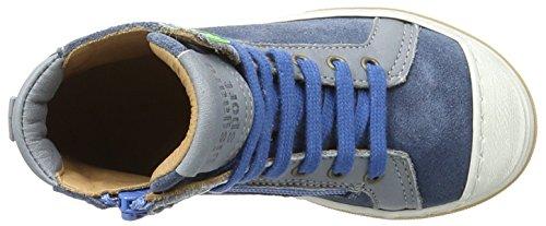 Bisgaard Schnürschuhe - Zapatillas Unisex Niños Blau (603-2 Jeans)