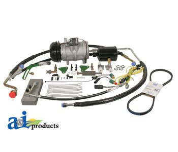 for JOHN DEERE TRACTOR, A6 Delco to Nippondenso A/C
