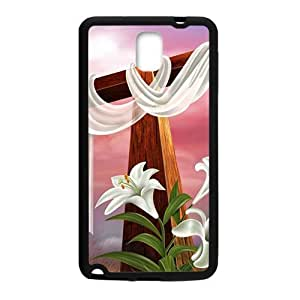 taoyix diy Pure red cloth big cross Cell Phone Case for Samsung Galaxy Note3