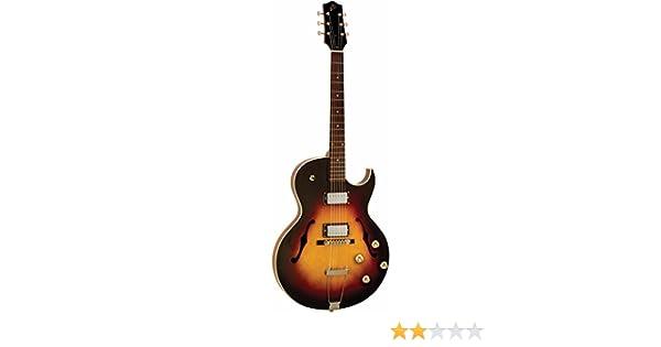 La Loar lh-304t thinbody Archtop CUTWAY HH para guitarra eléctrica ...