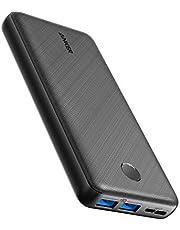 Powerbank Anker PowerCore Essential, 20000 mAh externe batterij met PowerIQ technologie en USB-C ingang, enorme energiedichtheid, compatibel met iPhone, Samsung, Huawei, iPad en meer
