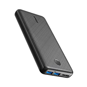 Anker Portable Charger, PowerCore Essential 20000mAh Power Bank with PowerIQ Technology and USB-C (Input Only), High… 4
