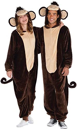 Zipster Monkey Onepiece Costume Adult product image